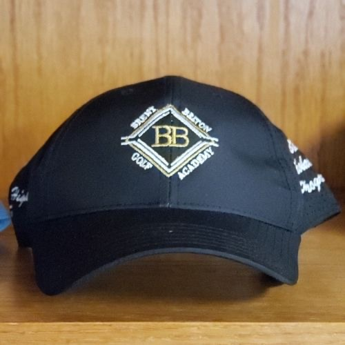 Brent Belton Golf Academy Hat (Black): $25