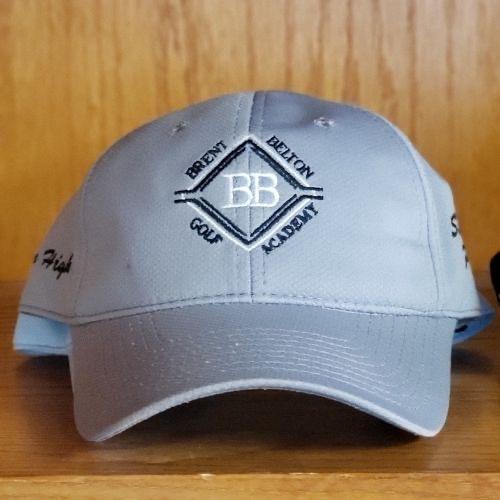 Brent Belton Golf Academy Hat (Grey): $25