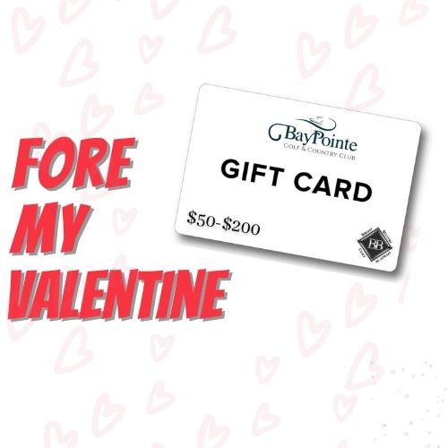 Gift Card: $50 | Receive a Complimentary Round of Golf (cart fee additional)