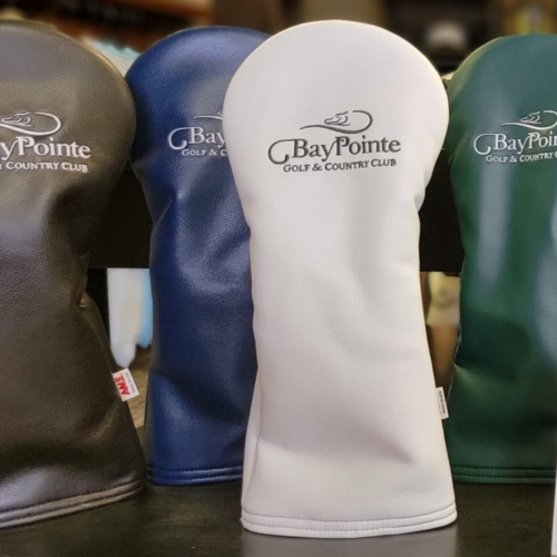 NEW AME Leather Headcovers: $42