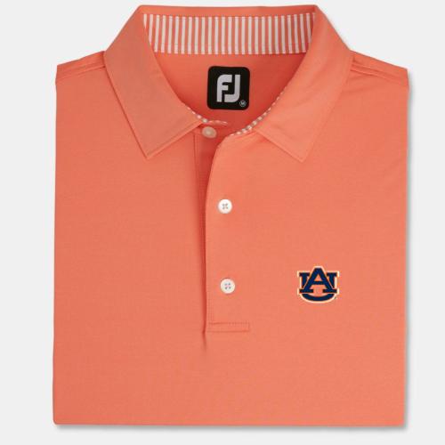 NEW Auburn Orange Solid Lisle Self Collar (M to XXL): $75