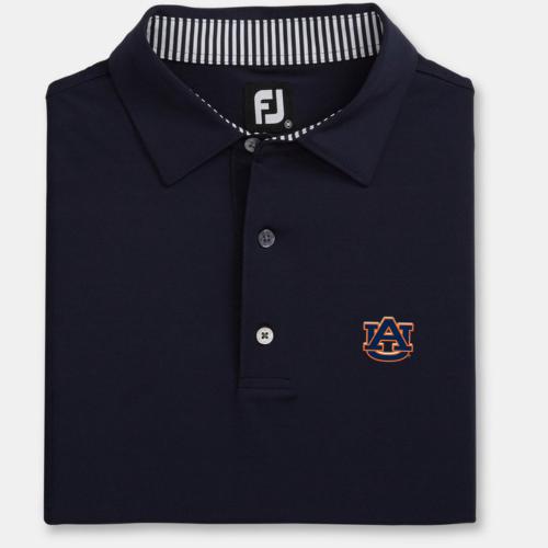 NEW Auburn Navy Blue Solid Lisle Self Collar (M to XXL): $75